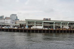 Backside of Tsukiji Market