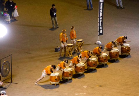 Drummers At The Port