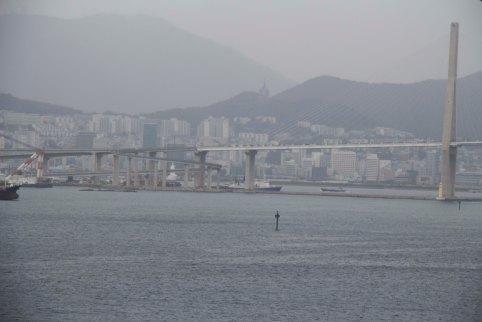 Entering Port Of Busan